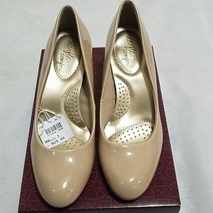 Dexflex comfort high heels nude for ladies